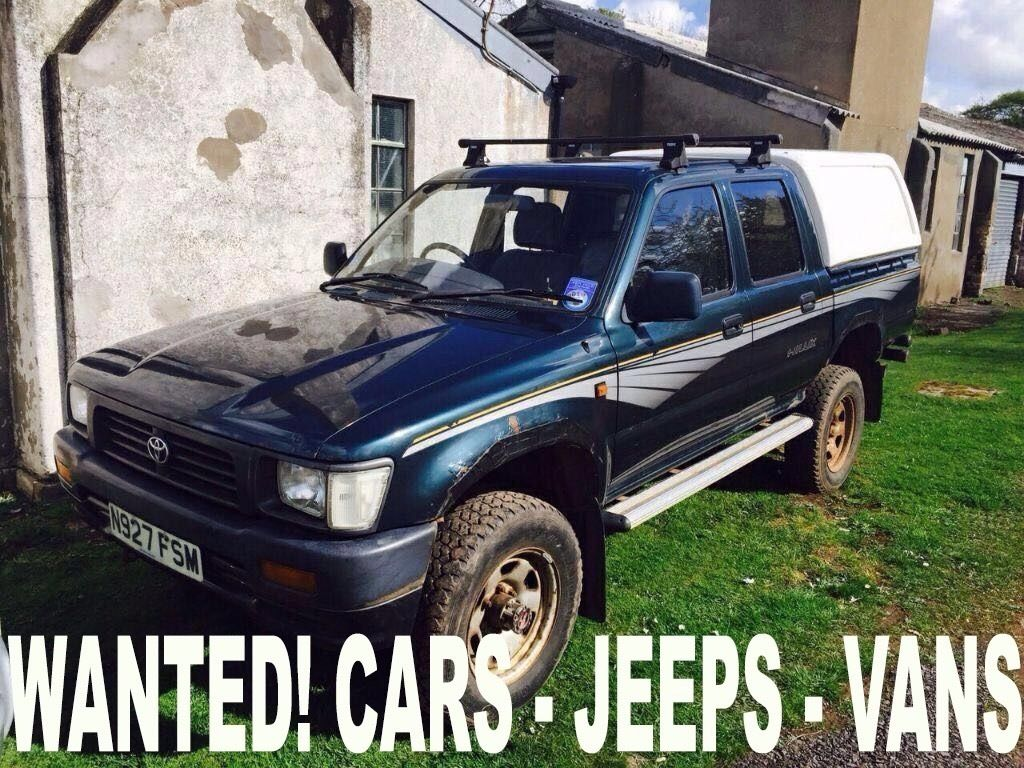 WANTED!!! TOYOYA HILUX