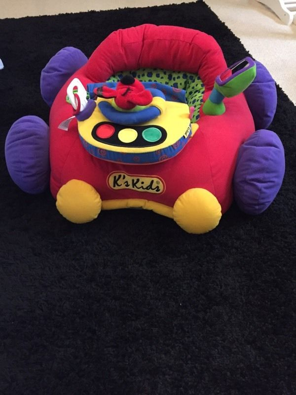 Kids cushion car