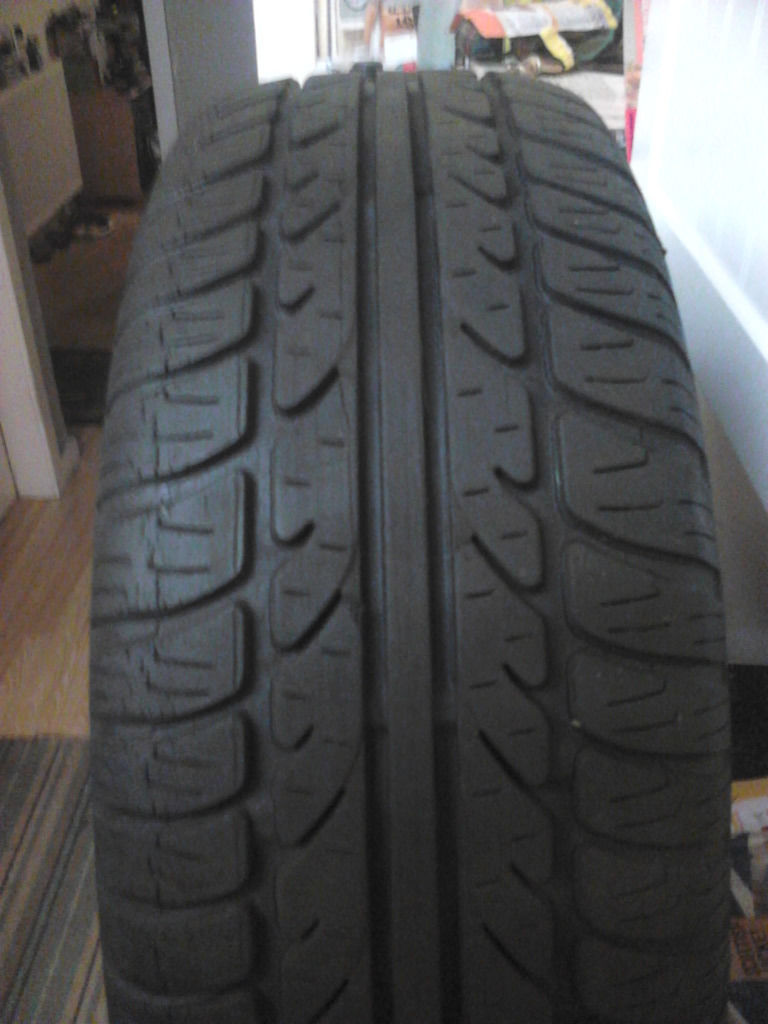 """multi fit 17"""" alloys 4 of with tyres"""