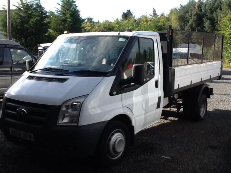 Ford Transit tipper 115 bhp 2.4 tdci 6 speed