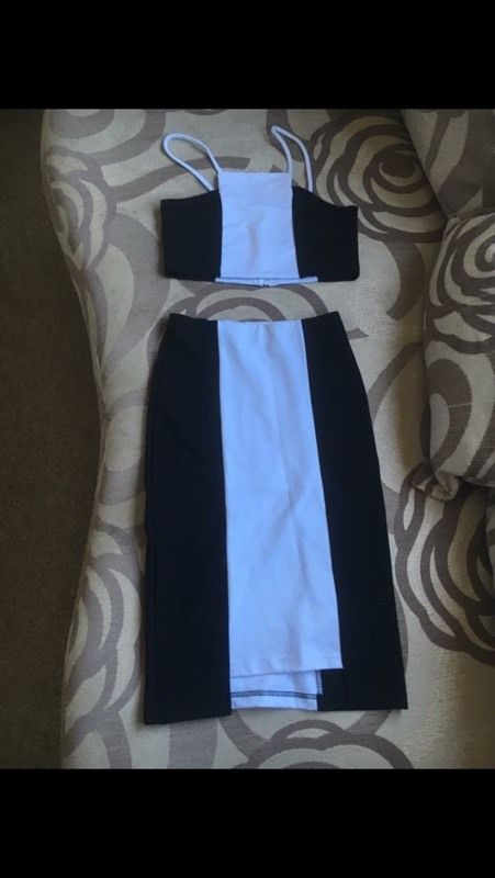 Two piece outfit size 8