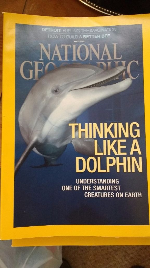 2015 National Geographic magazines
