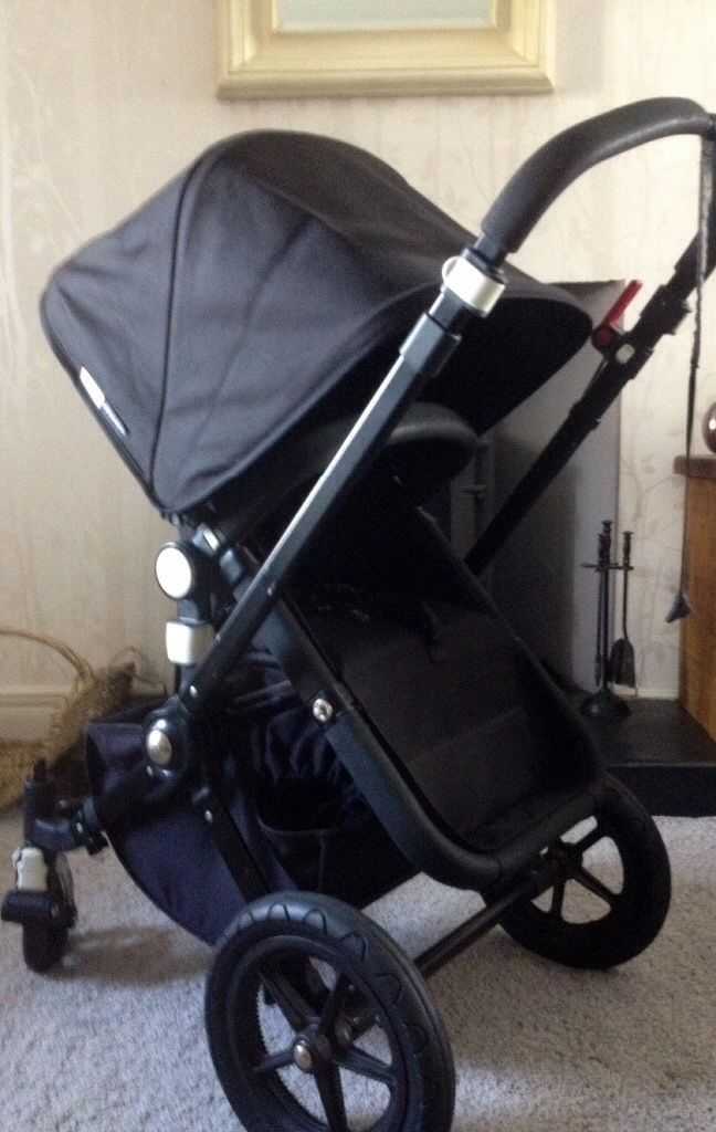 Bugaboo cameleon 2 all black limited edition