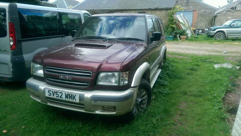 Isuzu trooper spare and repair