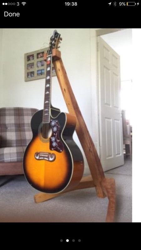Guitar stand for swap