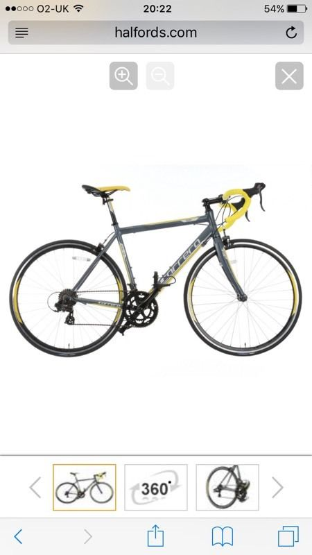 Carrerra 54cm mans road bike 6weeks old sale or swap