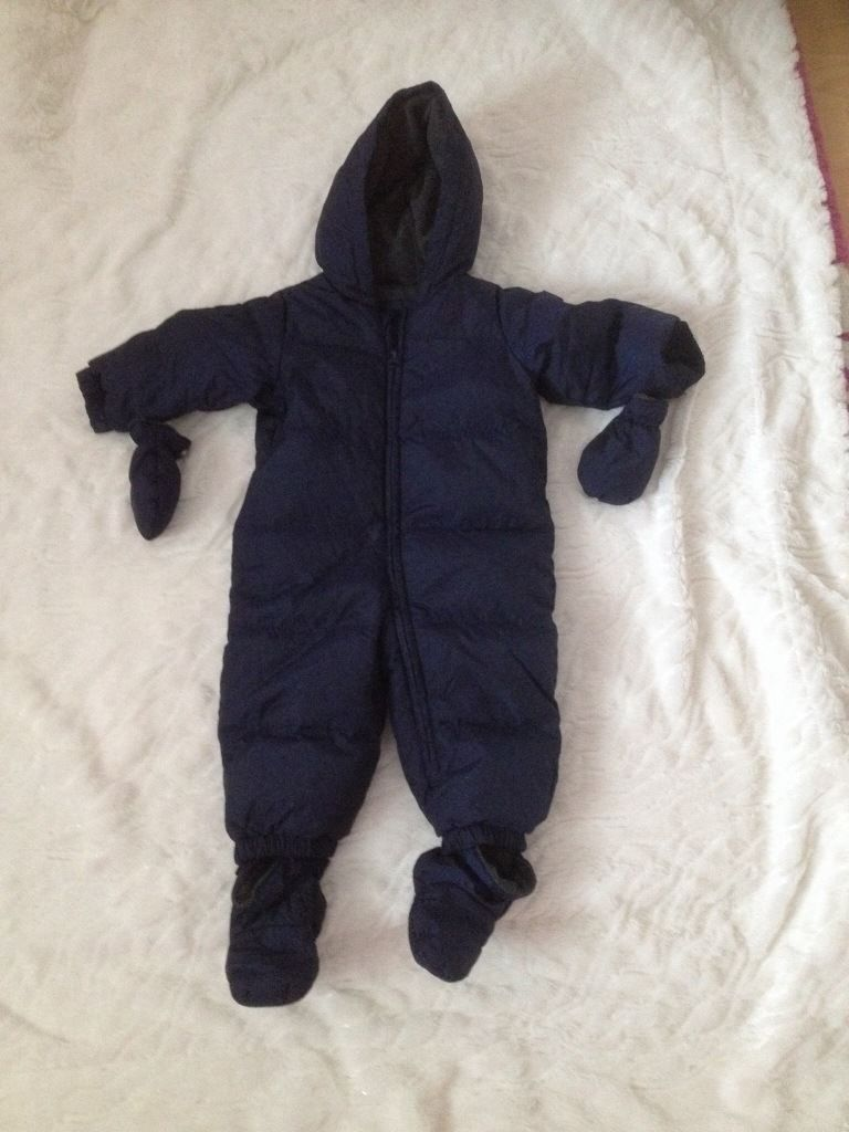 Boys 12-18 months snowsuits from Gap