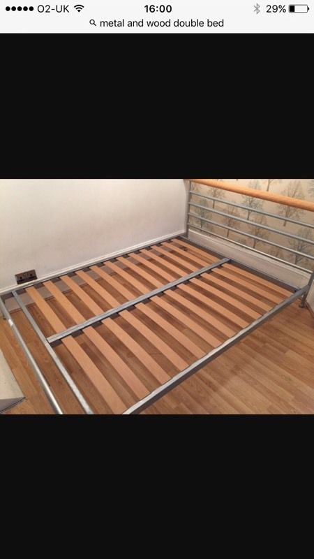 Marks and Spencer's double bed with mattress!!!!!