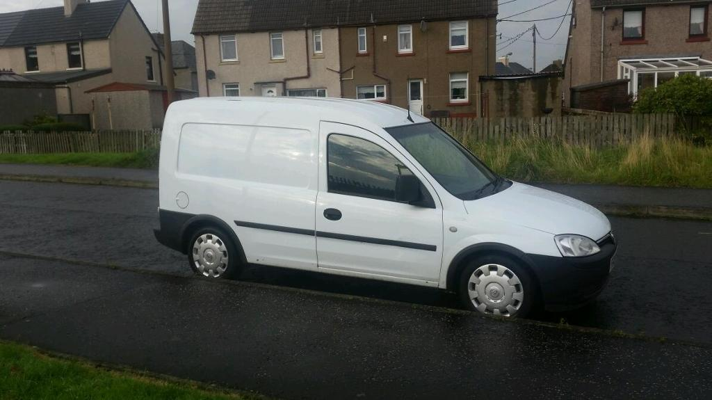 08 / reg vauxhall combo 1.7 cdti van years mot similar to partner berlingo caddy connect