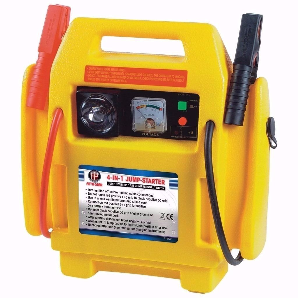 4 In 1 400 Amp Jump Start Booster With Air Compressor