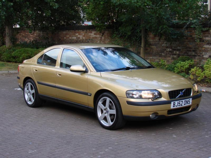EXCELLENT DIESEL!!! 2003 Volvo S60 2.4 TD D5 SE 4dr, FULL LEATHER, HEATED SEATS