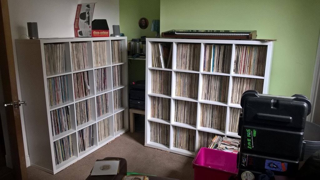 Massive Record vinyl collection for sale