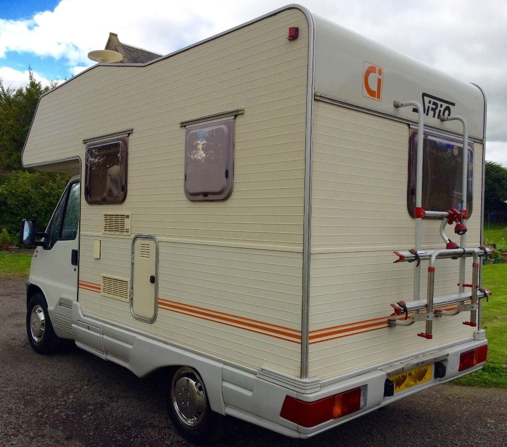 Fiat Ducato Ci Sirio 4 Berth/bike rack / full drive away awning/ power steering 52k miles
