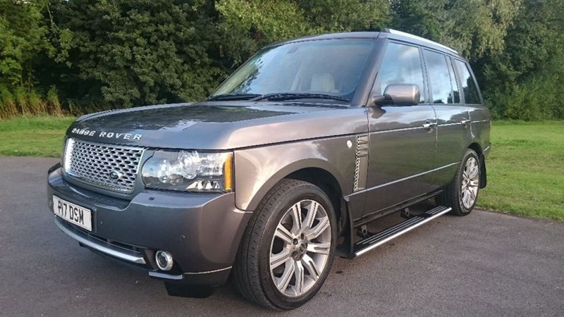 LAND ROVER RANGE ROVER L322 FACELIFT MODEL GREY