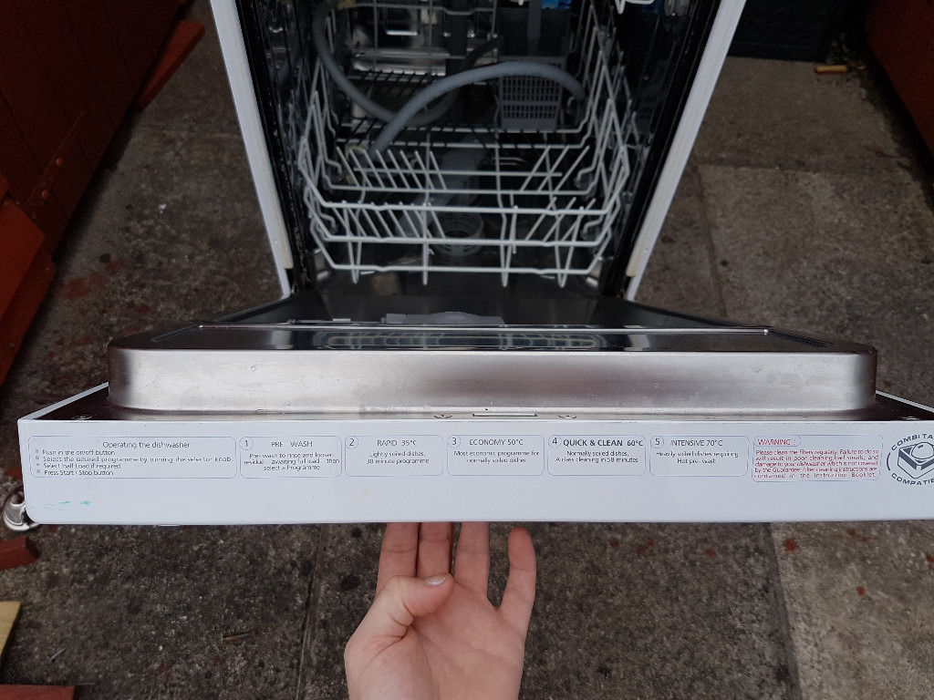 Beko White Slimline Dishwasher