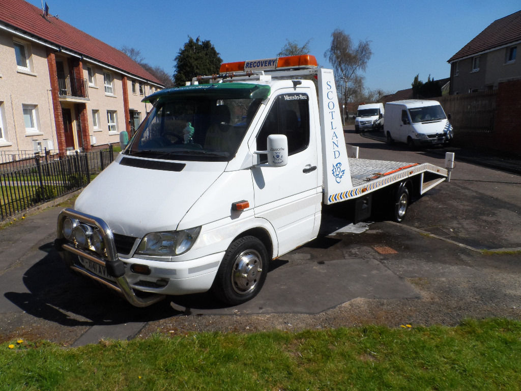 mercedes sprinter 311 cdi twin recovery x reg mot feb 2017