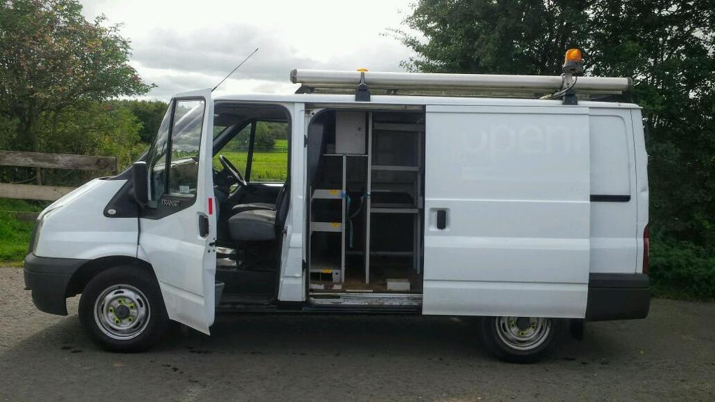 NO VAT. Ford Transit 85 T300S FWD, One Owner from new, 87,000 Miles, MOT 31/1/17,Worth a view.