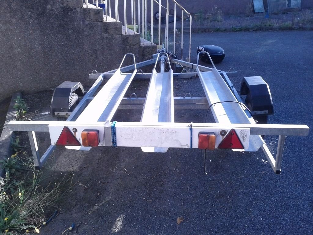 UNBRAKED 3 MOTORCYCLE TRAILER FOR SALE