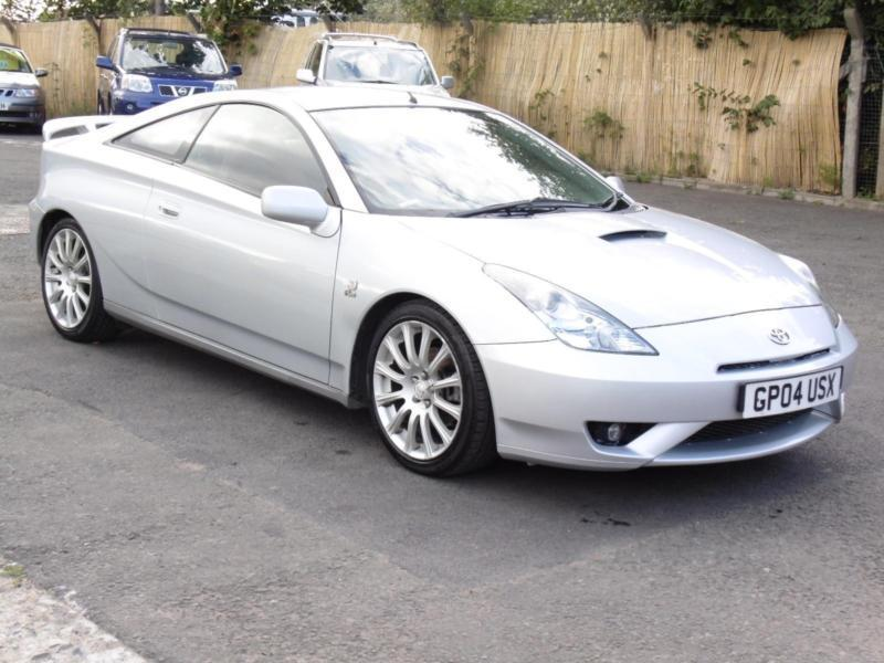 Toyota Celica 1.8 VVT-i, Silver, 2004, Red Interior, 6 Month AA Warranty