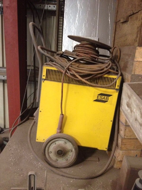 ESAB THF 400 Arc Stick Welding Machine