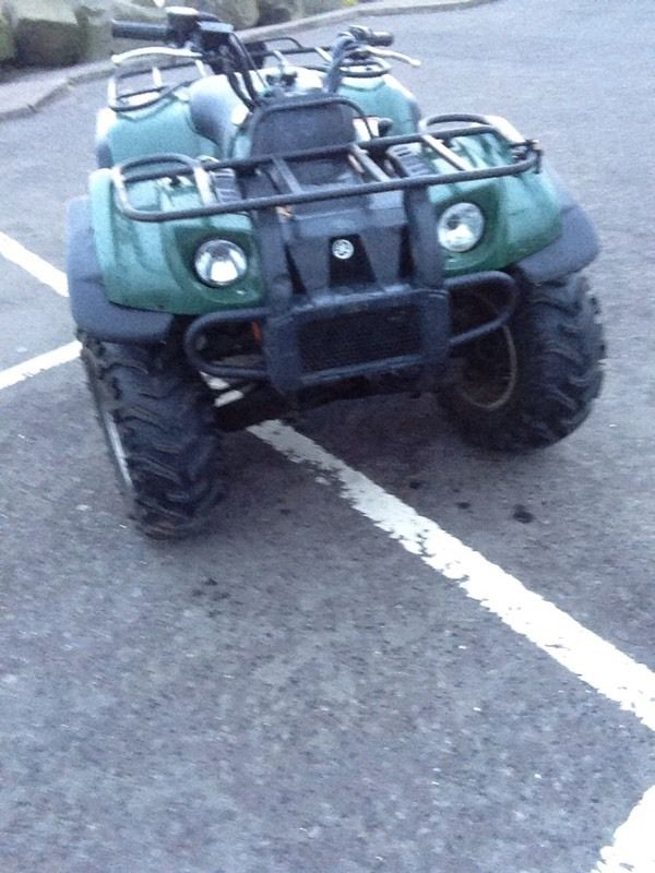 Yamaha grizzly/Kodak 450 4x4 like new