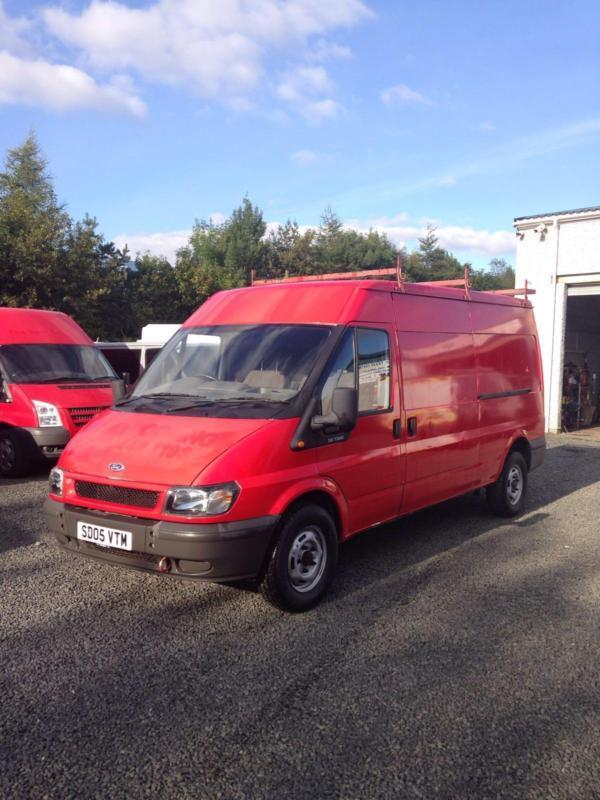 Ford Transit 2.4TDI ( 115PS ) 2005 05 Reg 350 LWB