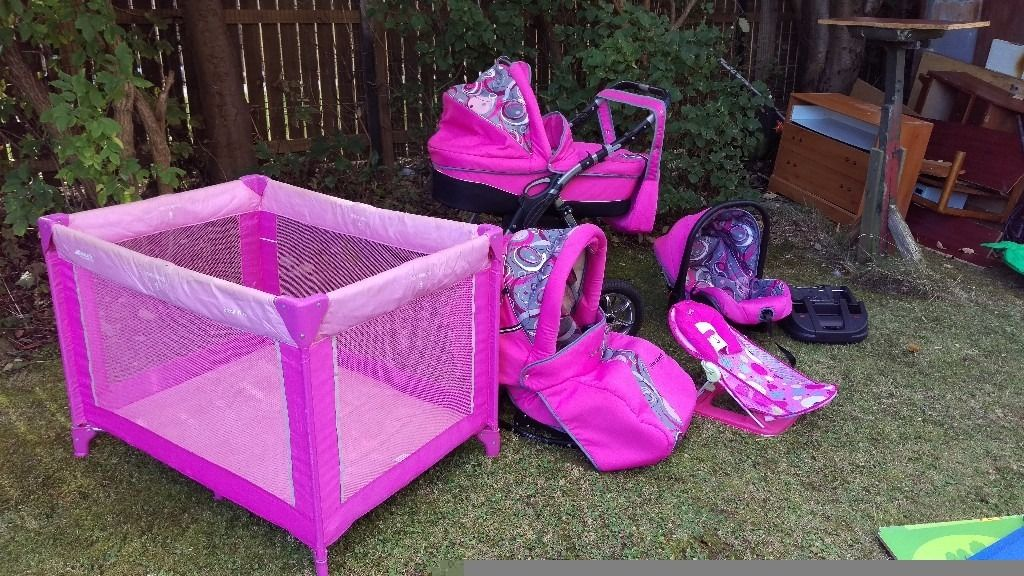 Pram/buggy/carseat and other stuff