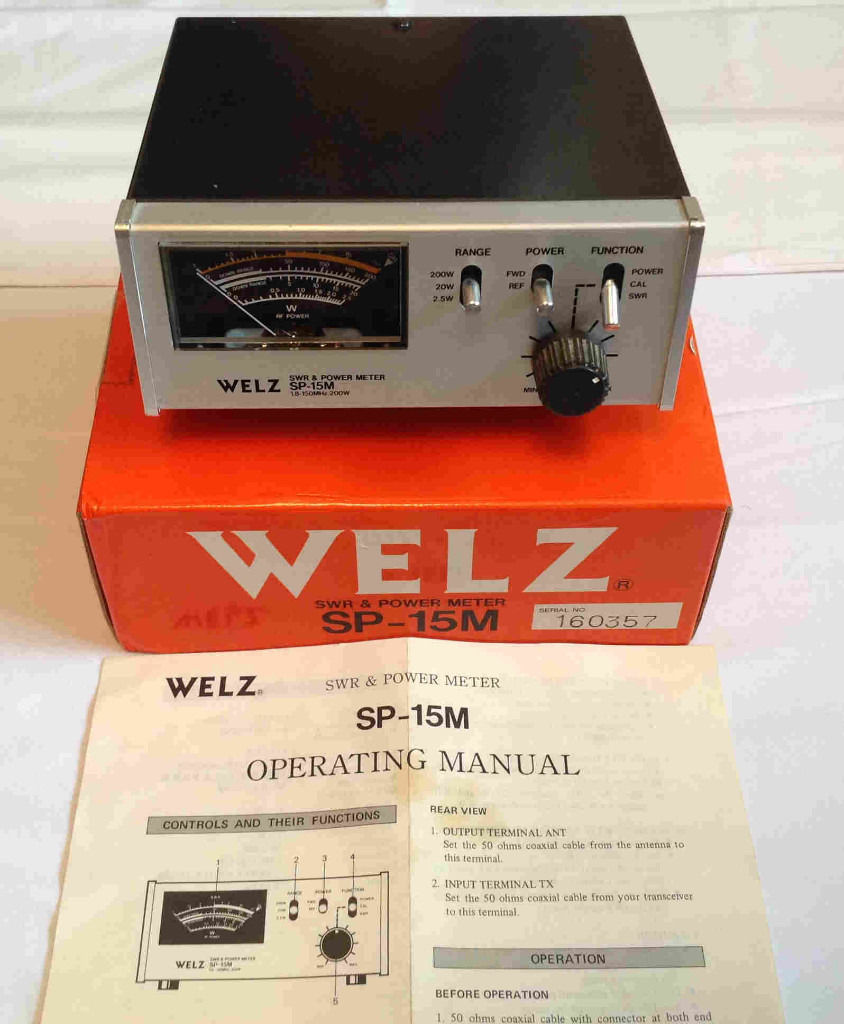 Welz SP-15M SWR & Power Meter