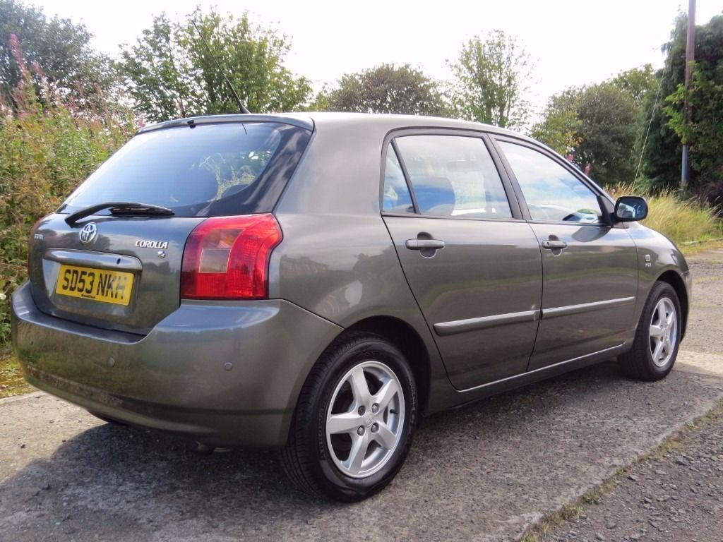 !!BARGAIN!! 2003 TOYOTA CORROLA 1.4 VVT / MOT / SERVICE HISTORY / 1 PREVIOUS OWNER / MUST SEE