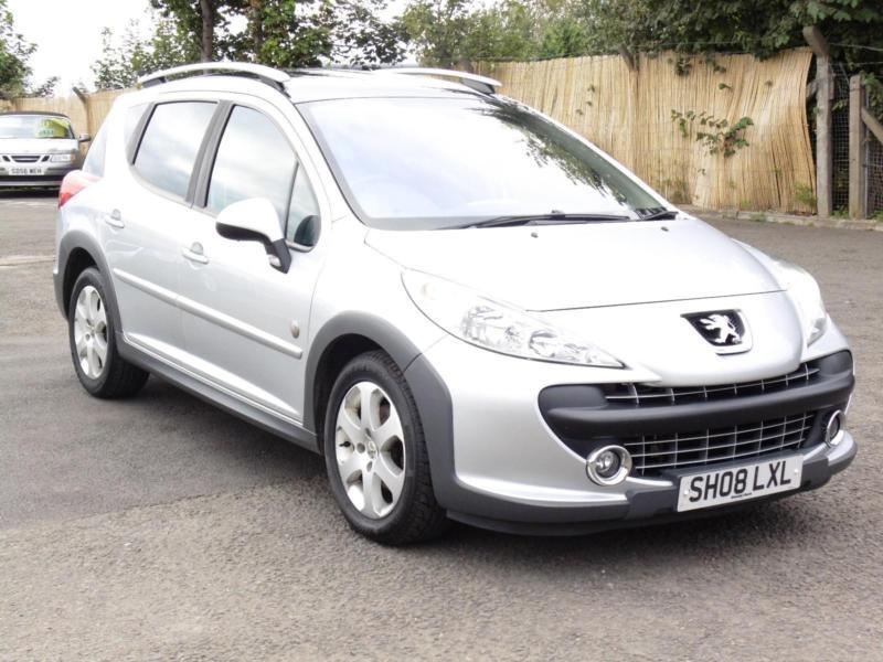Peugeot 207 SW 1.6 VTi 120 Outdoor, 47 000 Miles, 6 Months AA Warranty