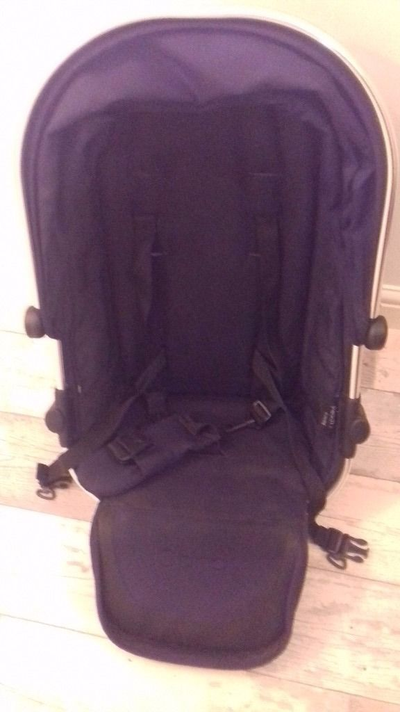 Icandy peach 2 blossom bottom seat and adaptors to convert from single to double