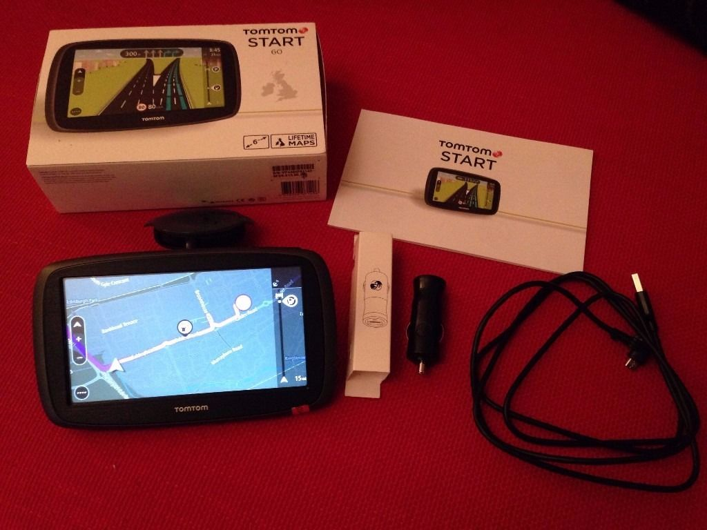 TomTom Start 60 Navigation: