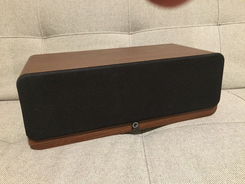 Q acoustics 2000ci centre speaker- walnut