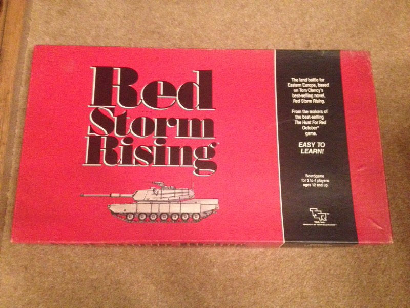 Rare Red Storm Rising, strategy boardgame