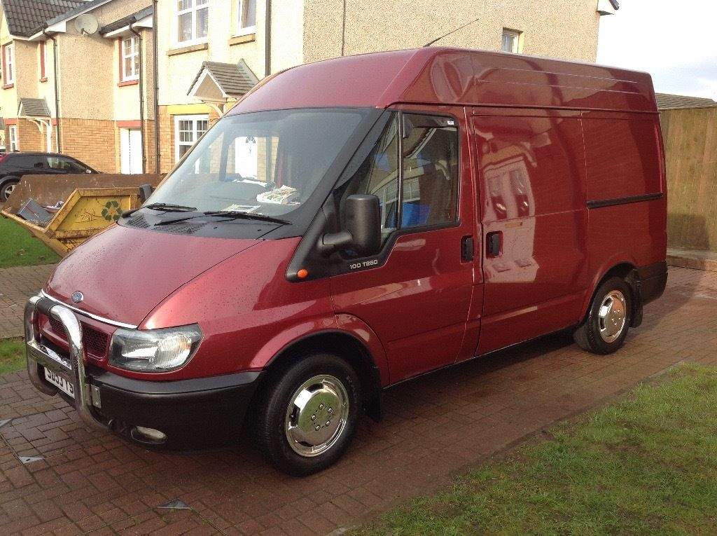 Smart eye catching transit van,crew van,remapped