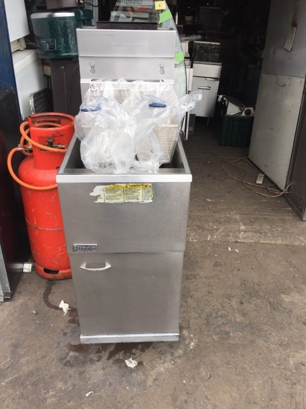 Pitco gas fryer