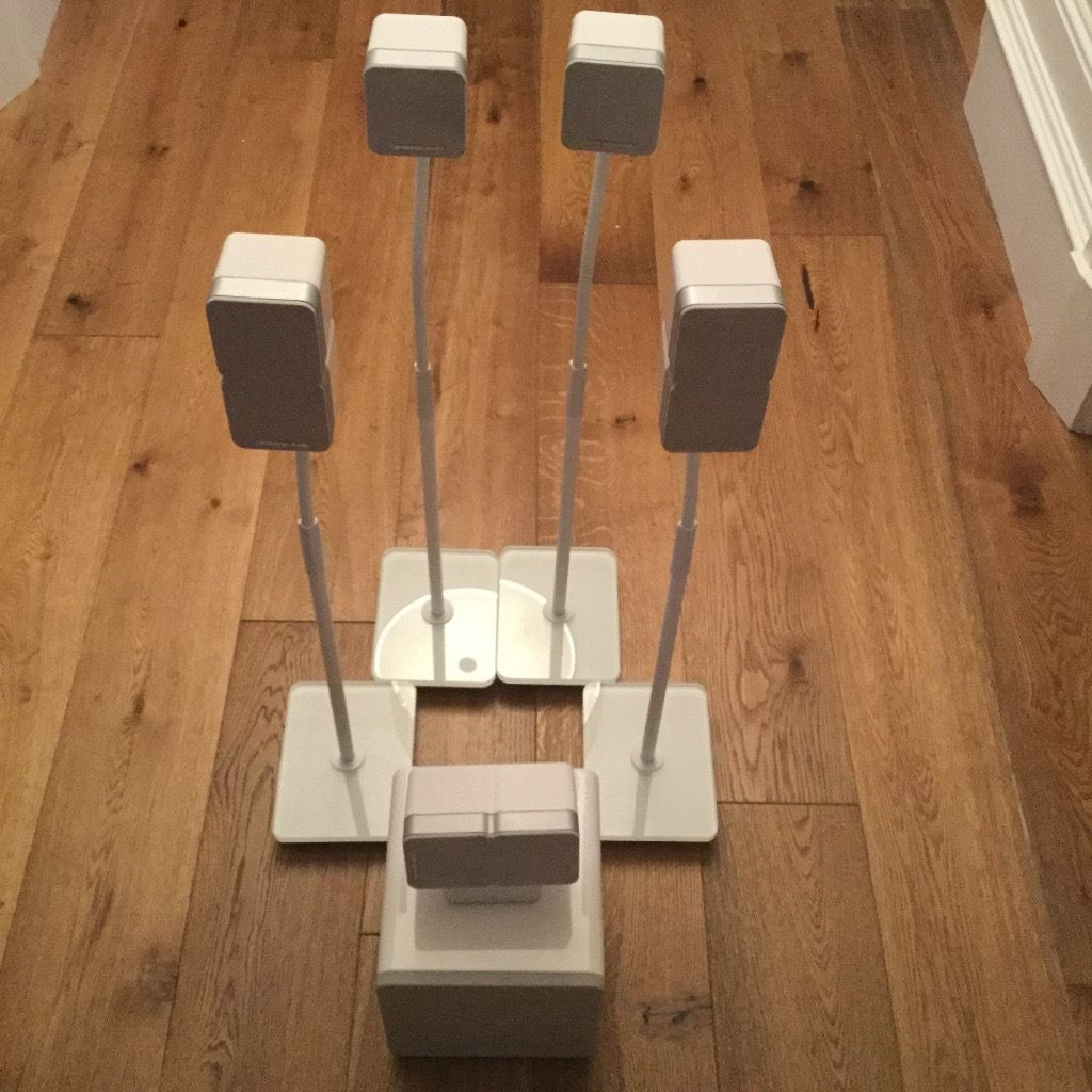 Cambridge Audio Minx Min 11 Surround Sound Speakers including Subwoofer and Stands