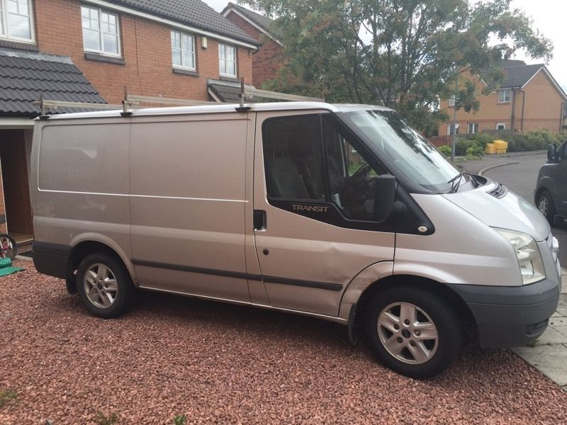 SILVER FORD TRANSIT TREND