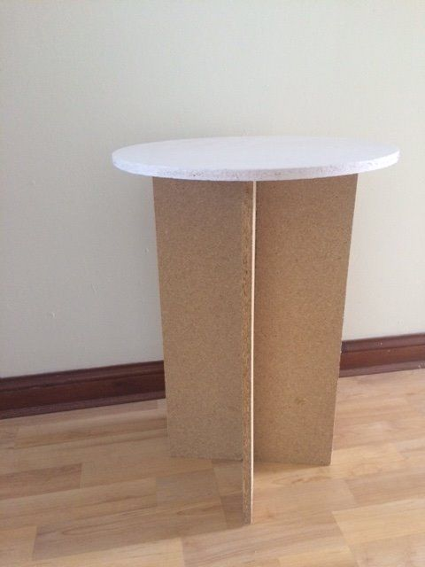 Round MDF Table
