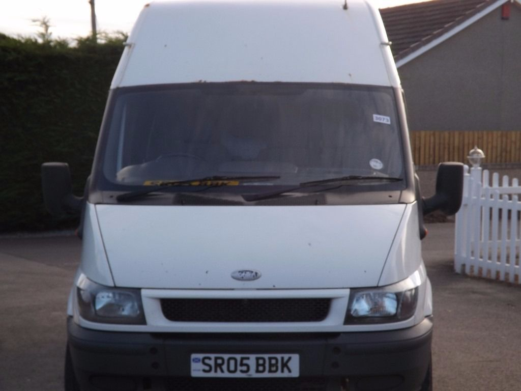 for sale this ford transit panel van 2005 330 mwb