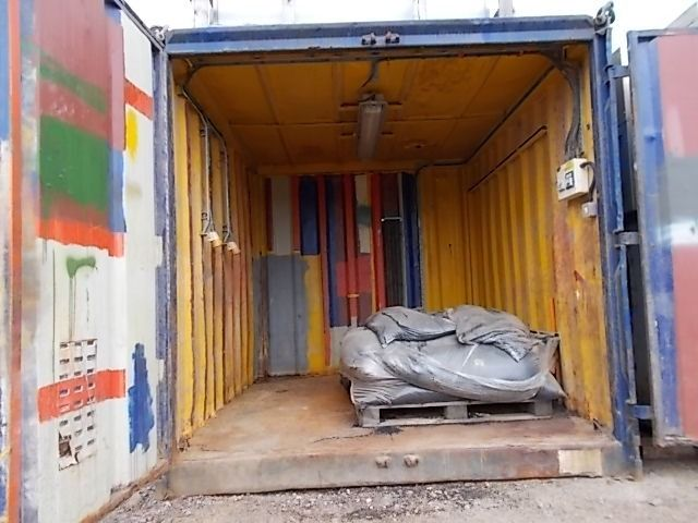 10Ft Steel Workshop Container
