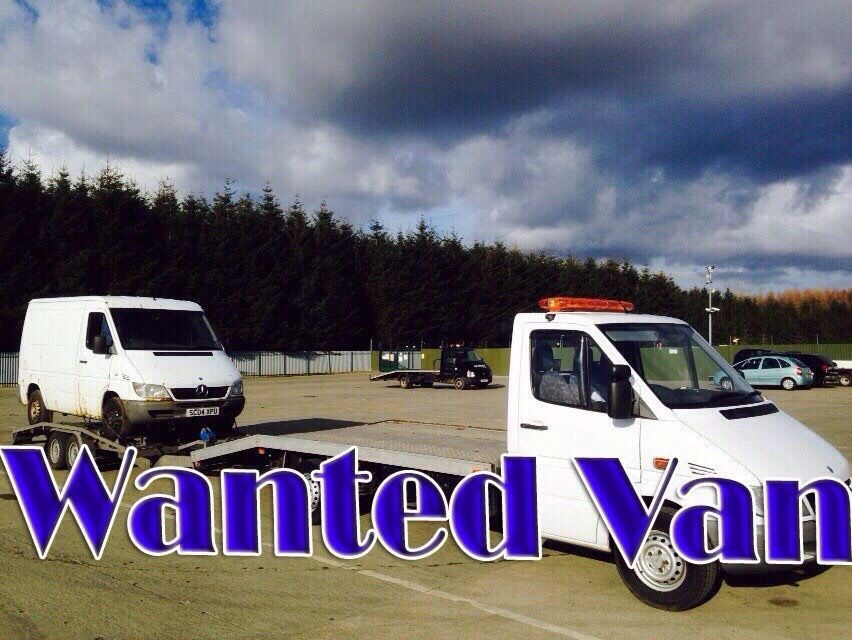 WANTED!!! MERCEDES SPRINTER VANS ANY YEAR