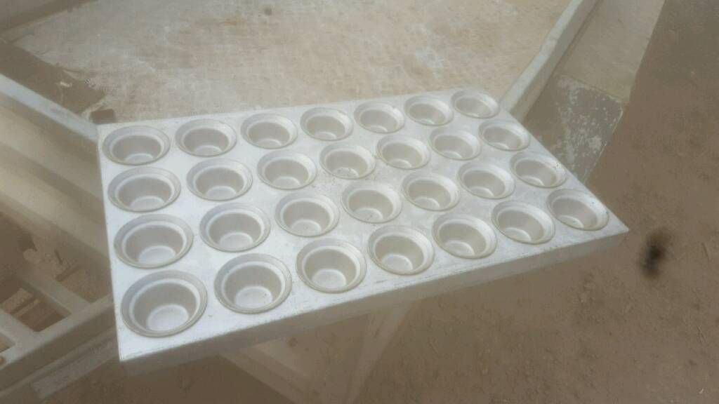 "Bakery equipment. Muffins trays,18""x 30"" dimensions."