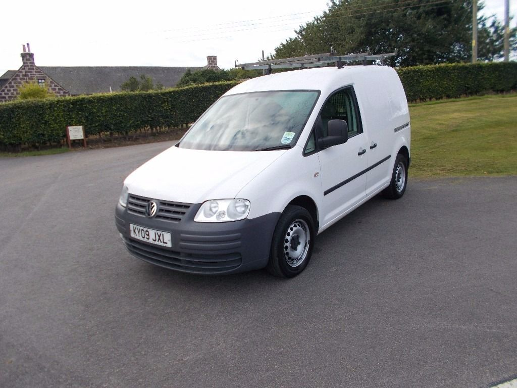 2009 09 VW CADDY VAN 1.9 SDI SIDE LOADING DOOR MOT SEPTEMBER 2017