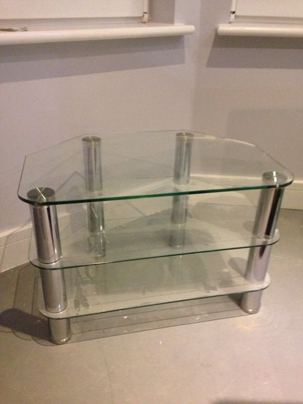 Glass TV stand FREE