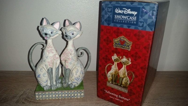 Disney Traditions Scheming Suitors Si & Am - RARE