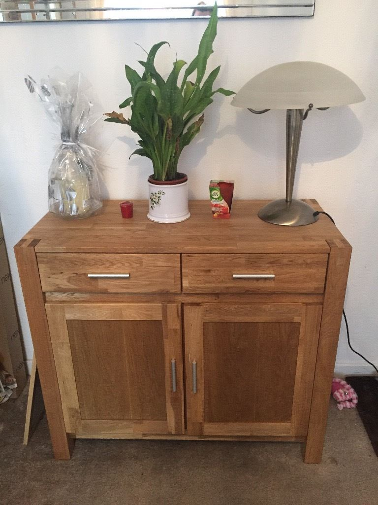 Soild oak drawer unit