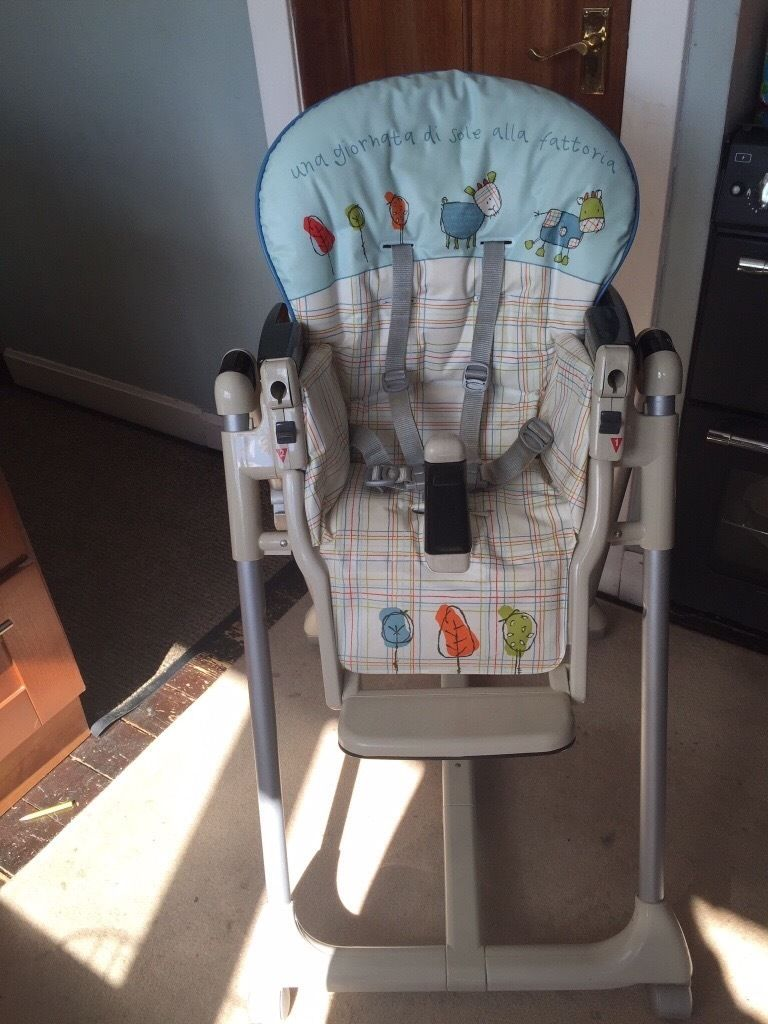 Mamas and Papas prima papas high chair