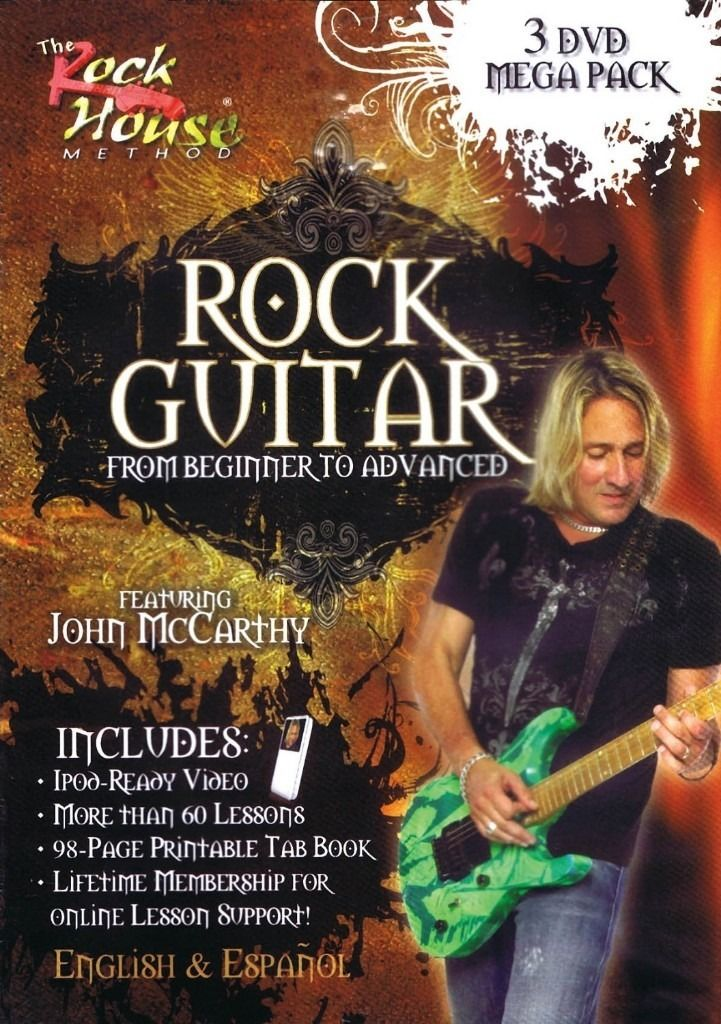 "The Rock House Method ""Rock Guitar 3 DVD Pack With Tab""."