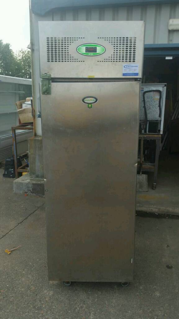 Stainless steel commercial Foster fridge
